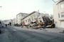 Destroyed Buildings, Collapse, Marina district, Loma Prieta Earthquake (1989), 1980's