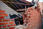 Red Brick Wall, Building Collapse, Northridge Earthquake Jan 1994, DAEV03P13_02