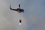 Cal Fire UH-1H Super Huey, Stony Point Road Fire, Grassland, DAFD03_011