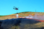 Cal Fire UH-1H Super Huey, Stony Point Road Fire, Grassland, DAFD03_052