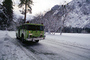 Fire Engine, snow, ice, cold, trees, forest, woodland, road, DAFV03P12_01