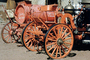 Calico Fire Dept., California, 1890's Horse-drawn Steam Pumper, Pump, water tender, DAFV04P13_17B
