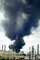 Standard Oil Refinery Fire, Chevron, Thick Black Smoke, Richmond, California, DAFV07P04_08