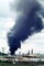 Standard Oil Refinery Fire, Chevron, Thick Black Smoke, Richmond, California, DAFV07P04_13
