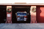 firetruck head-on, Garage, Wreaths, DAFV07P14_09