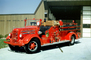 Pumper, Pleasanton Fire Department, Fire Station, California, 1945 Mack Truck, DAFV10P15_01