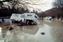 Flooded trailer, campsite, DASV01P08_14