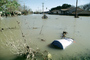 Flooded suburban neighborhood, Homes, Houses, Northern California, DASV02P01_18
