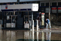 Flooded Gas Station, Louisville, Kentucky, DASV02P15_15