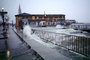 The Embarcadero, Waves splashing, Flooded Street, sidewalk, DASV05P01_07