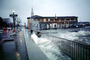 The Embarcadero, Waves splashing, Flooded Street, sidewalk, DASV05P01_09