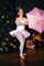 girl, female, tutu, umbrella, Ballet, Ballerina, EDAV01P06_15