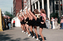 Cheerleaders, Cheering, Legs, Festival of Arts, April 1978, 1970's