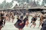 War Dance, Grass Thatched Roof, buildings, Nias, Sumatra, Indonesia, Sod, EDAV03P11_12