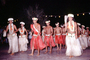 Hula Dance, Grass Skirt, December 1964, 1960's