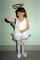 Angel with Halo, Slippers, Girl, Costume, Ballerina, EDNV01P10_11