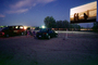 Movie Screen, Drive-in Theater, cars, EFCV01P09_09