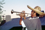 Trumpet Player, Lajitas, Texas, EMAV01P13_03
