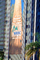 Save the Giant Sequoias, NRDC, 200 foot high banner by Wernher Krutein, Sunset Blvd, Hollywood, highrise building
