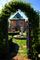 Path, Gardens, Gate, Entry, Peju Winery, Rutherford, FAVD01_138