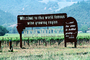 Welcome to this world famous wine growing region, . . . and the wine is bottled poetry, Napa Valley, FAVV02P06_11
