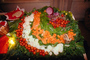 vegetable platter, buffet, FDNV01P01_15.0944