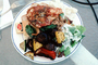 Full Plate, Roasted Vegetables, Salad, FDNV02P03_18