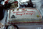 Graduation Cake, Denny and Danny, frosting, US Navy, Anchor, SeaBee's, FDNV02P06_19