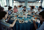 table setting, Lunch, Women, Ladies, 1960's, FDNV02P07_07