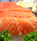 Raw Salmon  Fish Steaks, Fillet, Supermarket Aisles, FGND01_027