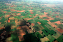 Fields near Amadabad, patchwork, checkerboard patterns, farmfields