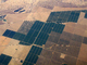 over the Central Valley, near Fresno, patchwork, checkerboard patterns, farmfields