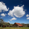 Red Barn, Clouds, Paso Robles, FMND03_074