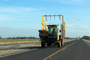 Hay Stacker on the road, FMND03_143