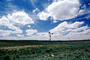Eclipse Windmill, Irrigation, mechanical power, pump, cumulus clouds, FMNV02P08_15