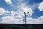 Eclipse Windmill, Irrigation, mechanical power, pump, cumulus clouds, FMNV02P09_02