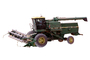 John Deere Turbo 6622 Combine, Wheat Mechanized Combine, photo-object, object, cut-out, cutout, swather, windrower
