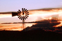 Eclipse Windmill, Irrigation, mechanical power, pump, sunset, FMNV06P04_13