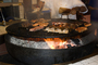 BBQ, Barbecue, Flame, Meat, Cooking, Steak, sizzling steak, hibachi, FRBD02_021