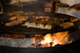 BBQ, Barbecue, Flame, Meat, Cooking, Steak, sizzling steak, hibachi, FRBD02_022