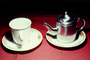 tea pot, cup, saucer, Teapot, Teacup, FTBV01P13_03