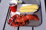 Lobster, Corn on the Cob, seafood, shellfish, beer