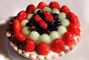 Fruit Pie, Strawberries, melon, Cherry, FTDV01P06_16
