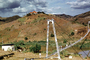 Bridge, Hills, Laying in Water Pipeline, Africa, FWPV01P01_14