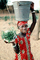 Girl Carrying Water and Plants, Dori, FWWV01P04_08B