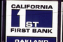California 1st First Bank