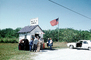 Ochopee, Rural Post Office, Shack, car, hut, Florida, 1983, 1980's