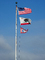 USA Flag, California State Flag, Lighthouse Flag, Fifty State Flags, GFLD01_004