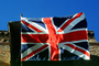 Union Jack, United Kingdom of Great Britain and Northern Ireland, (adopted 1801), Great Britain, British, GFLV01P08_02