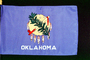 Oklahoma State Flag, Fifty State Flags, GFLV01P08_06